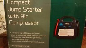 new compact jump starter with air compressor