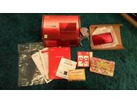 Red metallic 3ds boxed