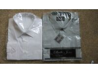 ABSOLUTE BARGAIN!!! 2 shirts, size 17.5, only £4!!!