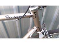 Paramount vintage road bike eroica ready nice condition campag parts bicycle
