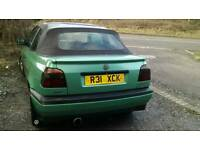 Mk3 golf convertible 300 or swap