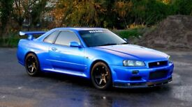 1999 Nissan Skyline R34 GTR – Low Mileage – High Quality Example - R35