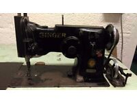Singer 143W3 sewing machine/Industrial zigzag/rare great working condition/1951?
