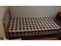 Single Bed and Wardrobe and draws ( job lot )