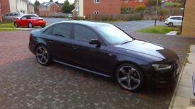 Audi A4 2013 Saloon Black Edition 1.8 TFSI 170 PS
