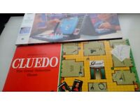 CLUEDO Board Game 1965 Edition - and BATTLESHIPS