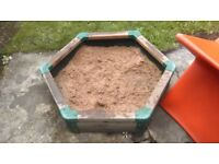 Early learning centre sand pit
