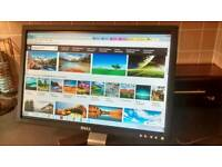 """Dell E207WFP 20.1"""" LCD computer display monitor LIKE NEW"""