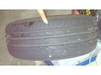 "FREE - Bridgestone Tyre 205/55R16 - Fits 16"" rims"