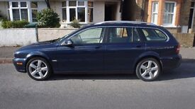 "JAGUAR X-TYPE 2.2D SE 2008 - ""08"" ESTATE 6 SPEED MANUAL - ""FACELIFT MODEL"" BLUE"
