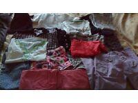Bundle of girls clothes suit 8-9 17 items