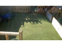 Due to moving we have our artificial grass for sale. It is 5 m long by 4 m wide
