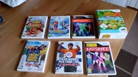Wii games- various