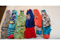 4-5 Years Boy x6 Pyjama Bundle Short Sleeve and Long Sleeve Pyjamas Marks and Spencer F+F
