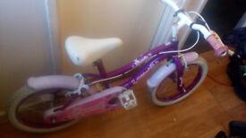 girls silver fox bike