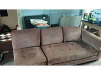 Briwn sofa