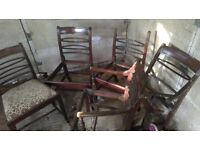 Chairs for repair / re-upholstery project