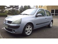 RENAULT CLIO 1.5 DCI 80 (2004) GOOD CONDITION 1 PREVIOUS OWNER LOVELY CAR