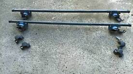 Thule roof bars with locks