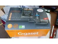 Gigaset AL410A DUO, Cordless phone duo & answerphone. Pristine, used, condition.