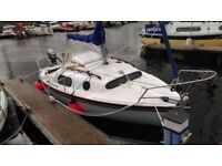 Leisure 17 Yacht - recent complete refurbishment incl nearly new trailer