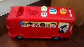 Phonics playtime bus
