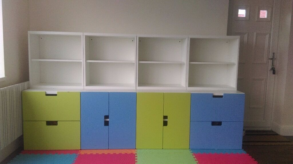 Stuva Storage Ikea Childrens Bedroom Toy Room Cupboard