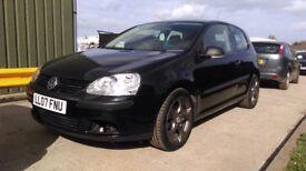 2007 VW GOLF 1.6 FSI BLACK Excellent Condition