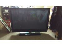 """Approx 43"""" Philips TV (spares or repairs!!)"""