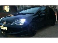Honda Civic type R ep3 nighthawk black facelift model FSH