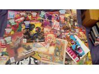 JOBLOT OF 29 2000 AD COMICS 90'S