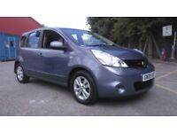 2009 Nissan Note N Tech 1 Owner 85k FSH 1.5 Diesel 2 Keys Nav Alloys Fogs £20 Tax Part Exchange Swap