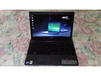 """Acer Travelmate 5735 15.6"""" wide screen Intel core 2 duo T6670 @2.20 GHz laptop"""