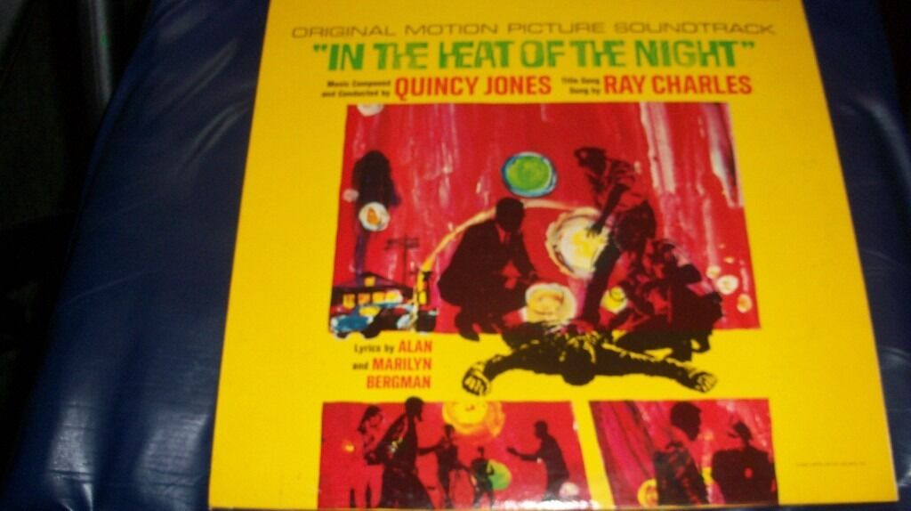 IN THE HEAT OF THE NIGHT Soundtrack LP