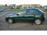Cheap 2002 Rover 25 1.4 Petrol Manual £425