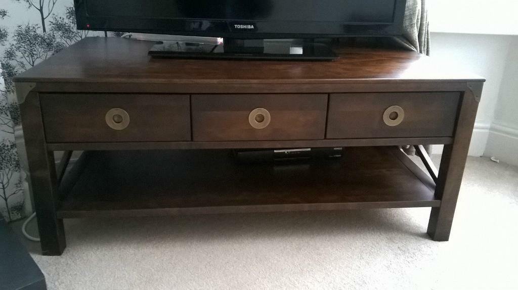 Laura Ashley Balmoral Chestnut Coffee Table Tv Unit In Hessle