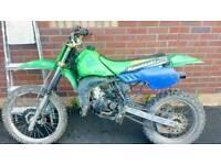 Kawasaki kx100 not cr ktm yz