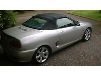 1999 MGF ........................................ Spares or repair last on road in 2011