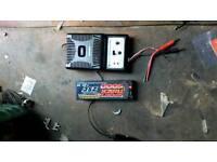 Lipo battery and 12v balance charger