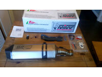 BMW R1200GS or GSA LC Mivv GS edition titainium exhaust