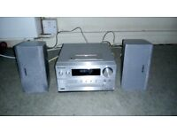 Panasonic SA-PMX5DB HiFi System with DAB+ & FM Radio/iPod & iPhone Dock and CD Player