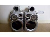 Jvc gigatube speakers