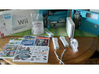 Nintendo Wii Consol and accessories for sale.