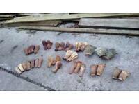 Antique cast iron bath feet