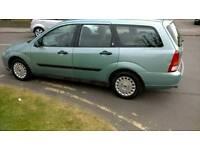 Ford Focus Estate 1.8 Petrol Manual £375