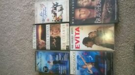 6 VIDEO TAPES