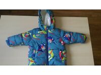 Next boys winter jacket size 9-12