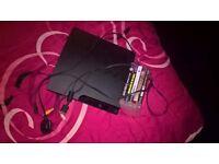 Sony ps3 160gb no contoller & 5 ps3 games