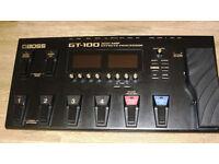 Boss GT100 Guitar Effects Processor