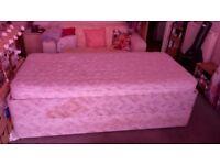 2 Single Bed + 1 Single Mattress